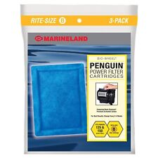 MARINELAND CARTRIDGE ECLIPSE RITE SIZE B FILTER 3 PACK. FREE SHIPPING TO THE USA