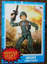 2015 SDCC EXCLUSIVE GENTLE GIANT GRUNT FROM GI JOE PROMO CARD 1977 TOPPS