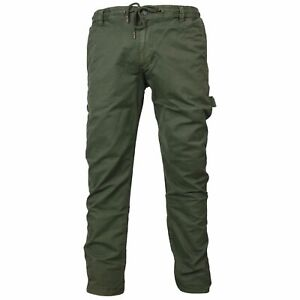 Reell Jeans Herren Reflex Easy Worker LC Pant Hose olive LONG - M L XL