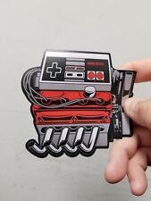 Nintendo engine sticker. 4 x 4. (Buy 3 stickers, Get One Free!)