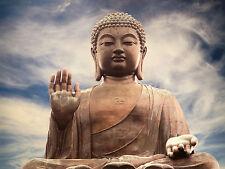 Japanese Zen Buddha Photo Zen Meditation Aid Modern Wall Art Decor Zen Art