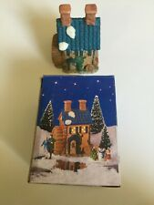 "1995 ""Grain Mill""-Home Town America Christmas Village Collection. Handcrafted."