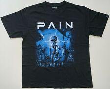 "PAIN ""YOU ONLY LIVE TWICE"" T-Shirt Lindemann Hypocrisy Tägtgren Metal Gr.L *NEU*"