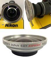 X40 ASPHERICAL HD WIDE ANGLE LENS  LENS FOR NIKON D40 D60 D70 D80 D90 D3100 D50
