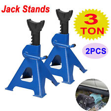 Heavy Duty Car Steel Jack Stands, 6 Ton Capacity - 1 Pair For Tyre Replacement