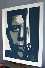 John Fitzgerald Kennedy - Lithographie originale de Bernard Adam - tirage 100 ex
