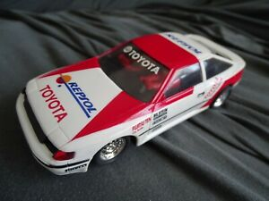 SCX LIKE SCALEXTRIC 83320 TOYOTA CELICA  2WD RED/WHITE REPSOL MODIFIED/ MABUCHI