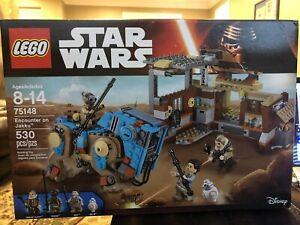 LEGO 75148 Star Wars Encounter on Jakku - new and sealed.  Retired Set