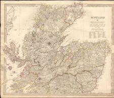Scotland Ayrshire 1800-1899 Date Range Antique Europe Maps & Atlases