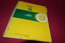John Deere 466 Series Baler Dealer's Parts Book BWPA