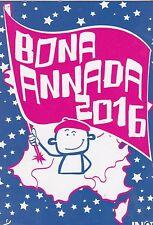 CARTOLINA PUBBLICITÀ - OCCITANO - BONA ANNADA 2016 - ACCUMULATO UN COMPTAR 2016