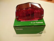 GENUINE LUCAS REAR LAMP LIGHT STOP TAIL TRIUMPH 3TA 5TA T100 T120 LU53454 12V