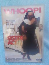 SISTER ACT WHOOPI GOLDBERG,MAGGIE SMITH,HARVEY KEITEL DVD PG R4