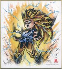 DRAGON BALL GT JAPAN SHIKISHI X1 ANIME COLOR PAPER ART 4 AKIRA TORIYAMA 7