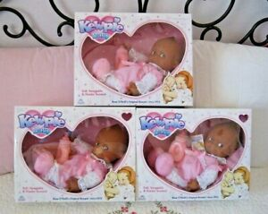 Black African/American Kewpie Baby - Soft & Snuggable -  Goldberger/Jesco