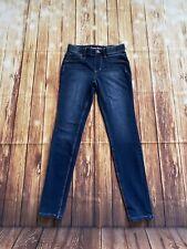 Tommy Bahama Girls Navy Pull-On Denim Stretchy Jegging Jeans Size 12