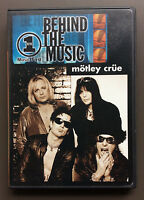 MOTLEY CRUE - VH1 Behind The Music DVD 2001 VG+/EX Condition Super RARE OOP
