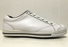 Footjoy Street Golf Shoes White Leather Softspikes Mens 56405 Size 10.5
