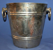 Vintage Ornate Silver Plated Ice Cooler Bucket
