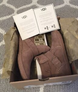Rare BNIB UGG Australia Women's Amely Fawn Suede Fringe Bootie Sz 6.5 UGG BOOTS