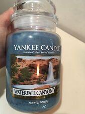 Yankee Candle WATERFALL CANYON Large 22 oz.Jar Candle
