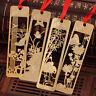 4× Chinesische Metall Lesezeichen-Memo Klipp Papier·Markierung Lesezeichen Neu