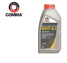 1L Comma High Performance Dot 5.1 Synthertic Brake And Clutch Fluid BF51L