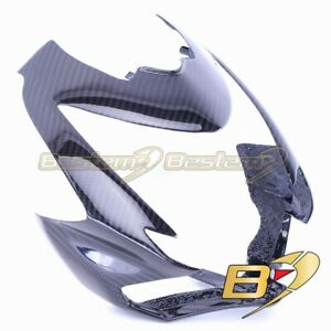Ducati Streetfighter 100% Carbon Fiber Front Nose Head Cowl Fairing,Twill