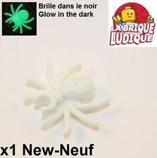 Lego - 1x Animal araignée spider glow in the dark phosphorescente 30238 NEUF