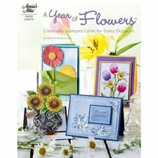 """ANNIE'S ATTIC """"A YEAR OF FLOWERS"""" INSTRUCTIONAL BOOK -  NEW"""