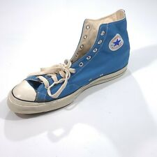 Vintage Mens Blue Converse Size 17 Right Display Shoe Only NEVER WORN