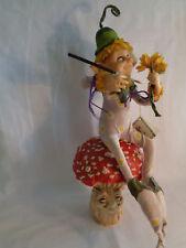 "Gail Lackey Enchanted Forest Pip Figurine Richard Simmons Fairy Doll w/ Tag 17"""