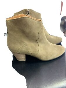 NEW $625 Isabel Marant Etoile Suede Ankle Boots 39