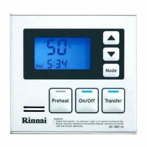Rinnai MC-100V-1W Deluxe Remote Controller White