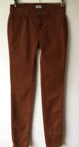 Ladies Pull And Bear Skinny Jeans Size Eur 32 Rust