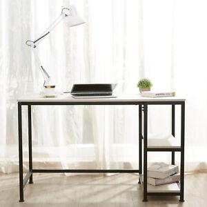 Bureau d'ordinateur table bureau Table ordinateurBureau Informatique&2 étagères