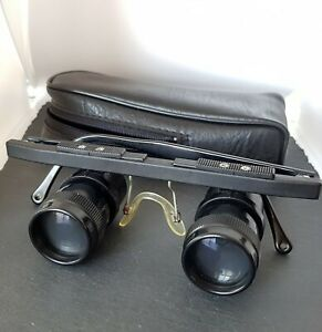 Eschenbach Tele 3 x Lupenbrille Telebrille - Für Sammler oder Bastler? Mit Etui