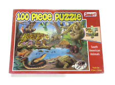Rare SMART South American Animals Kids Puzzle Toys Educational 100 Pieces
