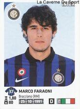 MARCO FARAONI # ITALIA INTER RARE UPDATE STICKER CALCIATORI 2012 PANINI
