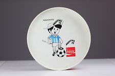 VINTAGE COCA COLA Calcio WM enorme vassoio GAUCHITO Argentina'78
