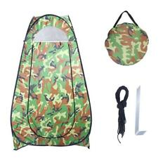 Pop Up Camping Tent Toilet Shower Beach Tent Outdoor Changing Room Camouflage