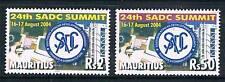 Mauritius 2004 SADC Summit SG 1114/5 MNH