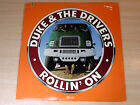 EX !! Duke & The Drivers/Rollin' On/1976 ABC Records LP/USA Issue
