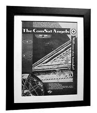 COMSAT ANGELS+Stay Tonight+POSTER+AD+RARE+ORIGINAL 1983+FRAMED+FAST GLOBAL SHIP