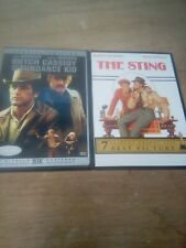 2 Paul Newman/Robert Redford Dvds Butch Cassidy and the Sundance Kid / The Sting