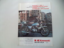 advertising Pubblicità 1979 MOTO KAWASAKI Z350 Z 350 I