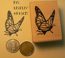 Butterfly fairy rubber stamp. P75