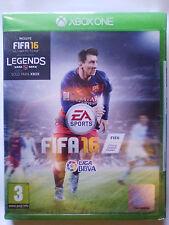 FIFA 16 (2016). JUEGO XBOX ONE. EDICIÓN JUEGO FÍSICO. NUEVO,PRECINTADO. PAL-ESP.