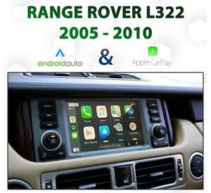 Range Rover Vogue 2005-10 Apple CarPlay & Android Auto Integration