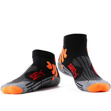 Herren Wade Länge Atmungsaktiv Weich Sportlich Uni Socken Fitness Workout 5Pack